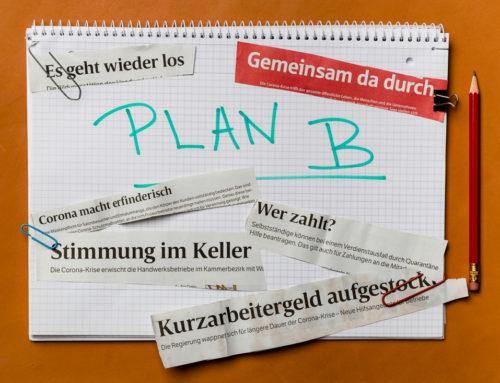 Radmila's Paper. Der Krisenplan. So habe ich es gemacht.