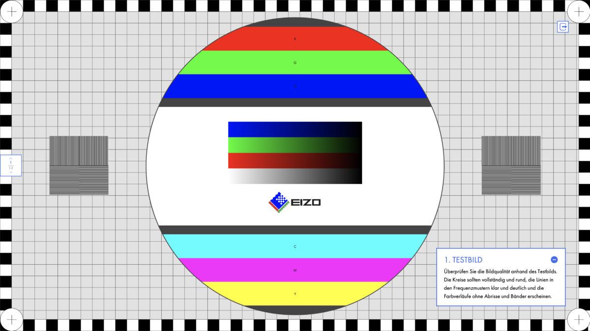 Testbild Eizo